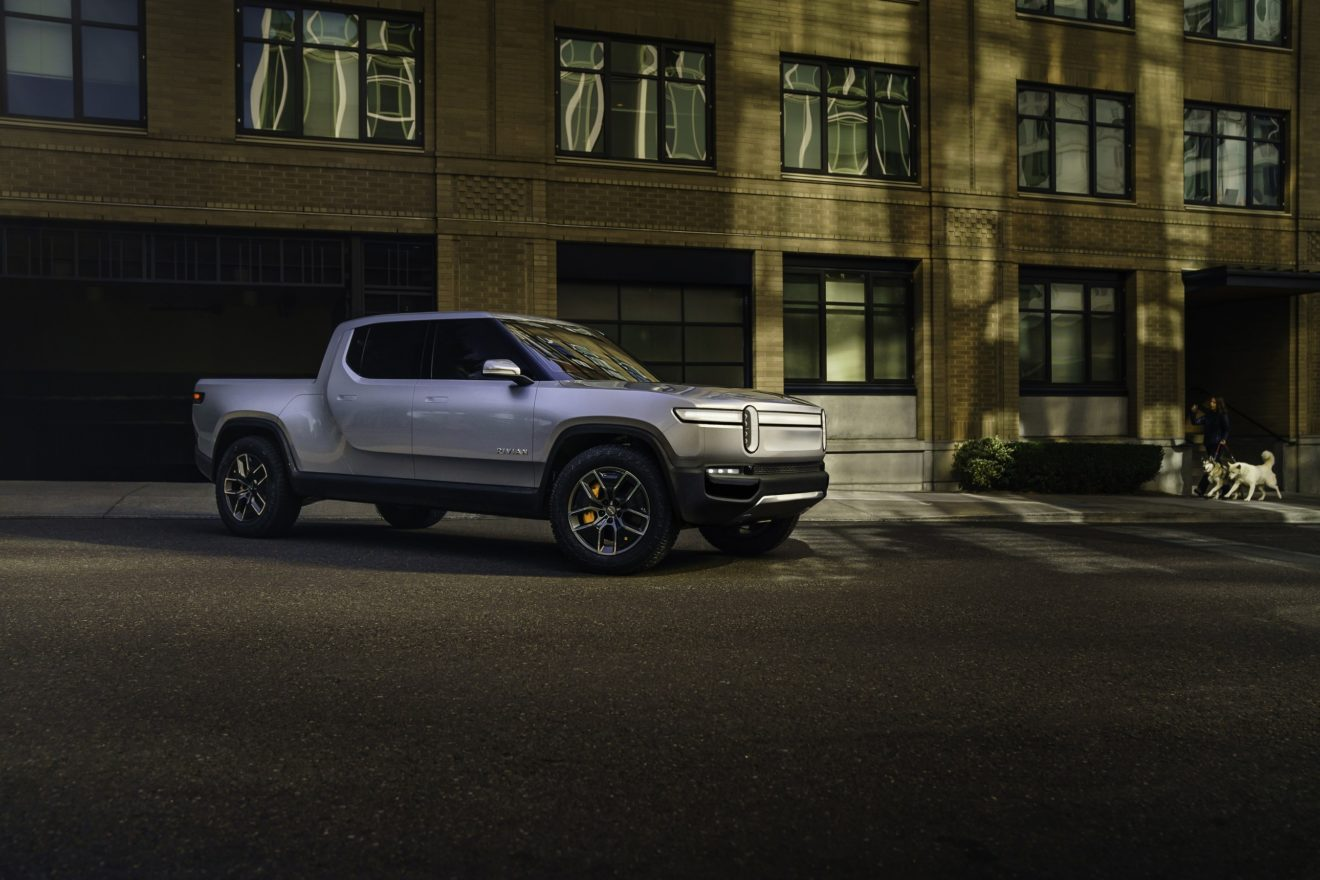 Rivian Launches World S First Electric Adventure Vehicles With Debut Of R1t Pickup